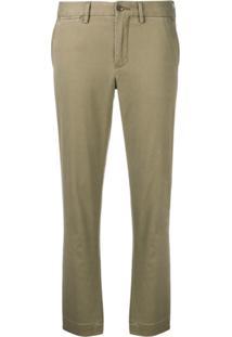 ... Polo Ralph Lauren Calça Chino Skinny Cropped - Green a77a9888905