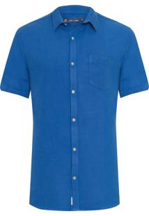 Camisa Masculina Georges - Azul