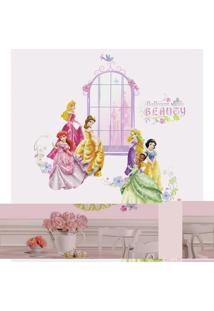 Adesivos De Parade Roommates Colorido Disney Princess Giant Wall Decals With Alphabet