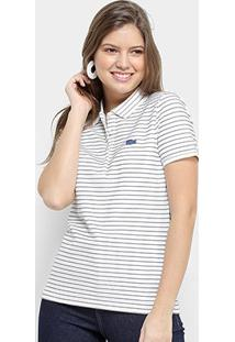 Camisa Polo Lacoste Polo Mc Feminina - Feminino
