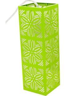 Pendente Taschibra Renda 101 Led E27 Autovolt Verde Limão