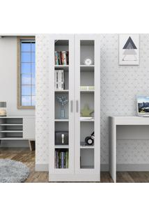 Estante Para Livros 2 Portas Branco Arm3003 - Appunto