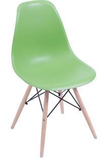 Cadeira Em Mdp/Mdf Base Escura 1102-Or Design - Verde