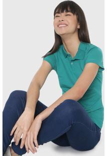 Camisa Polo Malwee Reta Lisa Verde