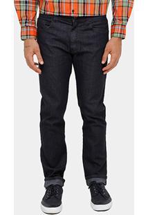 Calça Jeans Slim Ellus Black Masculina - Masculino