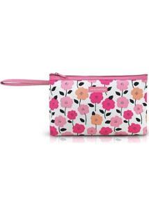 Necessaire Com Alça Jacki Design Pink Lover Feminina - Feminino-Rosa