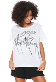 Camiseta Sommer Lettering Branca