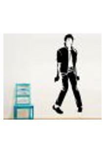 Adesivo De Parede Michael Jackson 1 - Pequeno