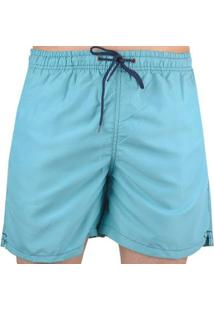 Bermuda Hurley Volley Ocean - Masculino-Azul