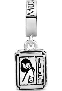 Pingente Life Medalha Mushu E Mulan