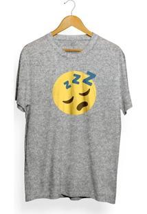 Camiseta Insane 10 Sleeping Emoji - Masculino