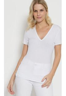 Camiseta Lisa - Brancatriton