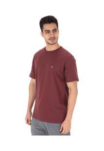 Camiseta Hurley Silk Incon - Masculina - Vinho