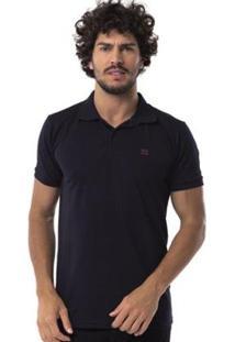 Camisa Polo Long Island Fsy - Masculino-Preto
