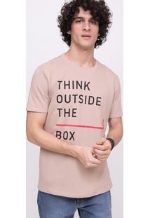 Camiseta Think Outside The Box