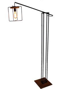 Luminária Com Lâmpada Bivolt Tetris Braço – Oficina Barnello - Preto