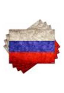 Jogo Americano - Rússia Com 4 Peças - 487Jo