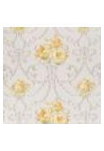 Pp169 - Papel De Parede Floral Larte