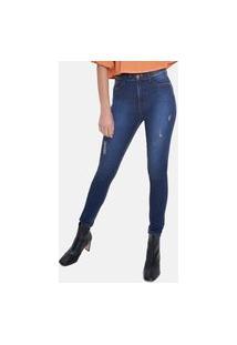 Calça Fem Super Alta Riccieri Jeans