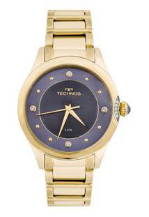 Relógio Technos Crystal 2035Mfr/4A Dourado 2035Mfr/4A