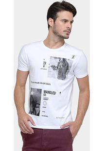 Camiseta Ellus Dreamer - Masculino-Branco