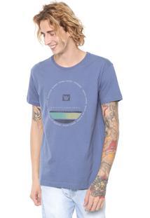 Camiseta Hang Loose Circlestripe Azul