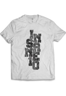 Camiseta Insane 10 Snake - Masculino-Branco