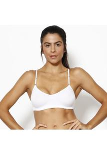 Top Nadador Liso- Branco- Zee Ruccizee Rucci