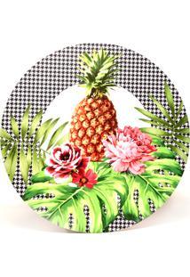 Jogo Americano Bendita Feitura Jardim Tropical Abacaxi Em Pvc