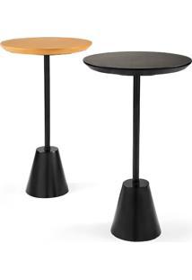 Mesa De Apoio Pair Tampo Laminado Design Exclusivo By Studio Artesian