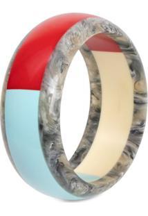 Bracelete De Resina Colorido