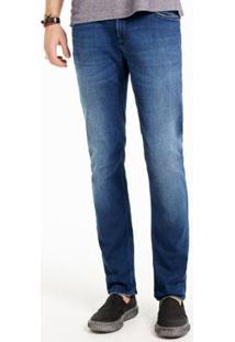 Calça Jeans Docthos Slim - Masculino-Azul