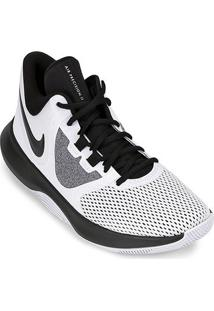 Tênis Nike Air Precision Ii Masculino - Masculino-Branco+Preto