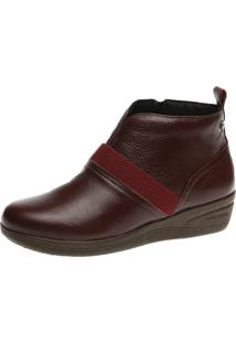 Bota Anabela Doctor Shoes 164 Vinho