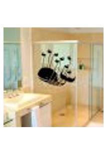 Adesivo Para Box De Banheiro Baleia - Medio