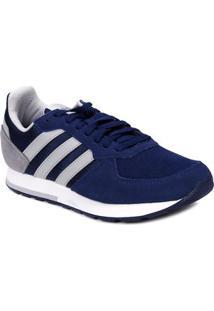 Tênis Esportivo Masculino Adidas 8K Azul Marinho