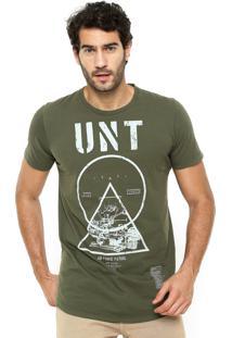 Camiseta Colcci Unt Verde