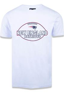 T-Shirt New Era Regular New England Patriots Branco