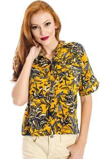 Camisa Floral Cantão