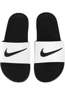 Sandália Nike Kawa Slide Masculina - Masculino-Preto