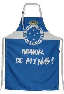 Avental Cruzeiro - Unissex-Azul