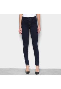 Calça Jeans Skinny Biotipo Cintura Média Feminina - Feminino