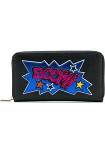 Dolce & Gabbana Carteira 'Boom' De Couro - Preto