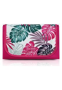 Tapete Para Piquenique Impermeável Jacki Design Tropicália Rosa
