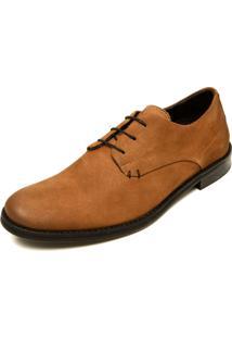 Sapato Social Couro Reserva Deco Caramelo