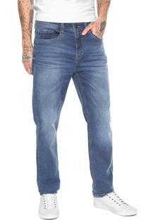 Calça Jeans Hering Reta Eco Azul