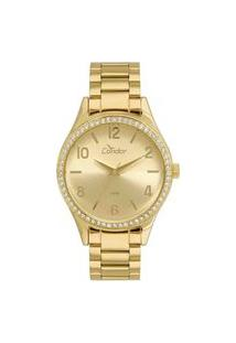 Relógio Condor Feminino Dourado Analógico Co2035Kuy/4D
