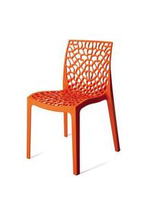 Cadeira Gruver Polipropileno Laranja - 15117 Laranja