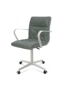 Cadeira Office Mark Verde Base Aco Fendi 87Cm - 61284 Verde