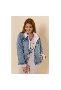 Jaqueta Jeans Forrada Natalie